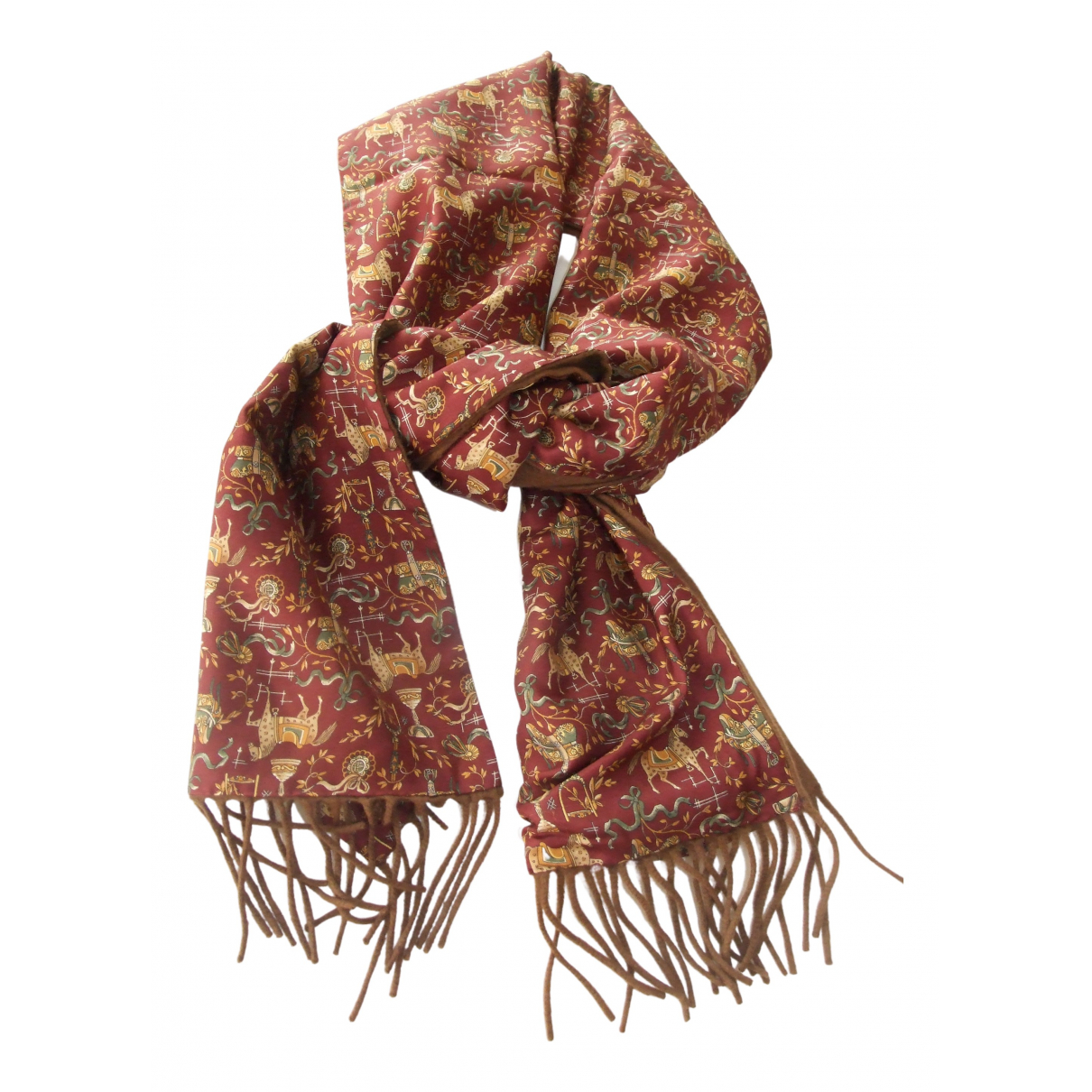 Pañuelo / bufanda de Seda Salvatore Ferragamo