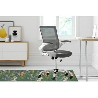 TROPICAL JUNGLE Office Mat By Kavka Designs (Green, Pink)