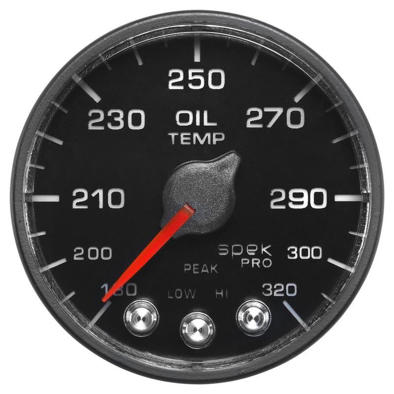AutoMeter 2-1/16in. OIL TEMP; 180-320`F; BFB; ECU; SPEK NL