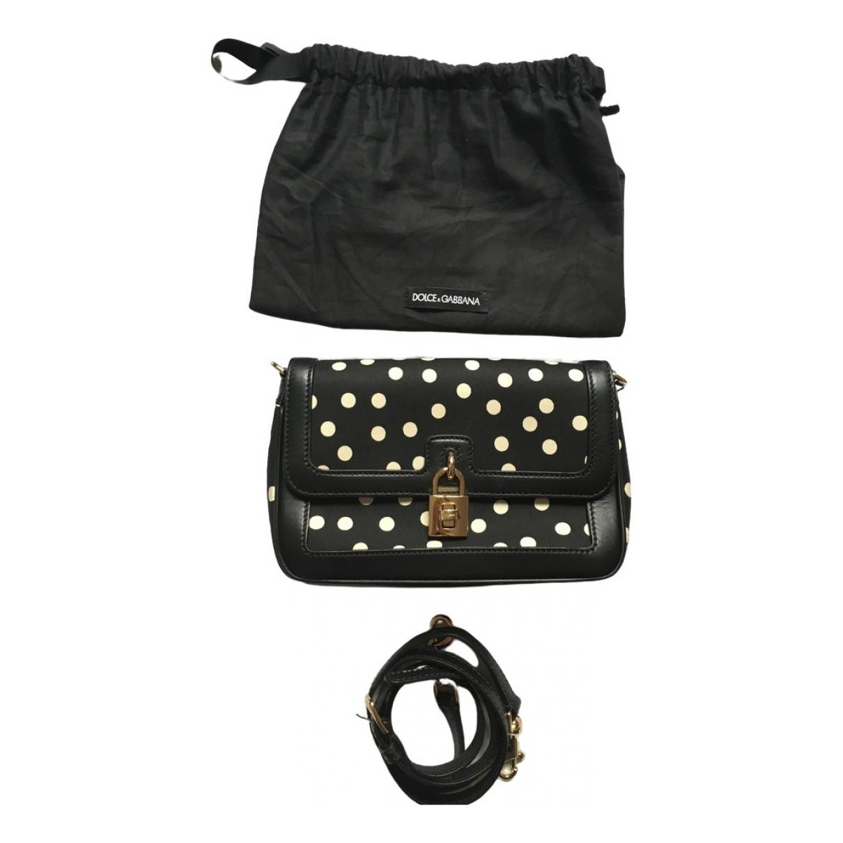 Dolce & Gabbana - Sac a main   pour femme en toile - noir
