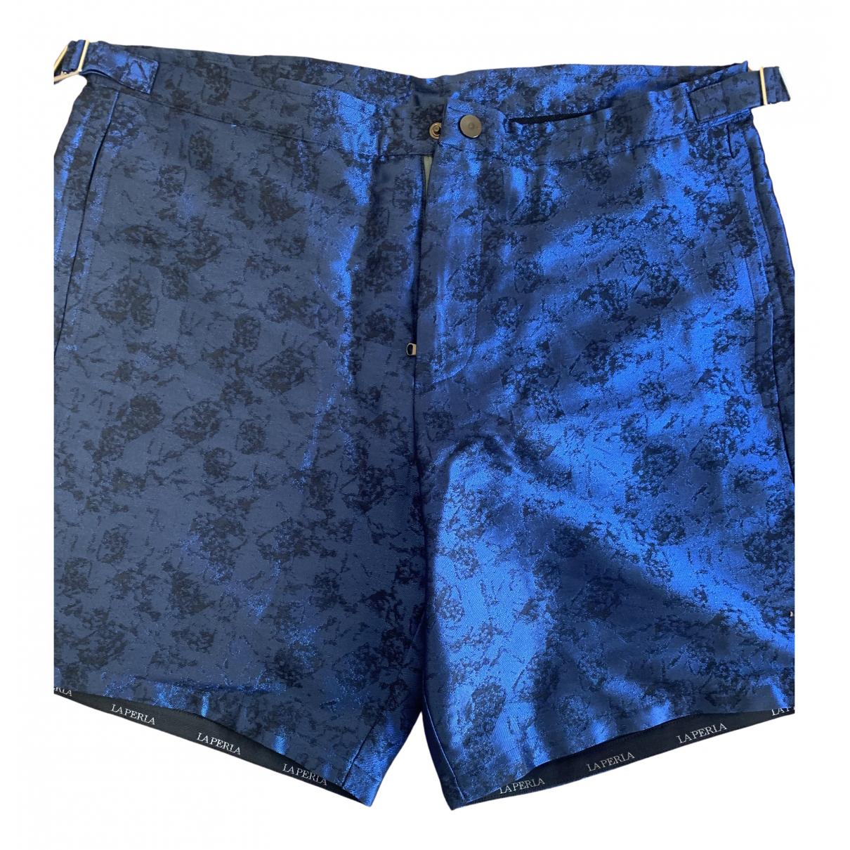 La Perla \N Badeanzug in  Blau Lycra