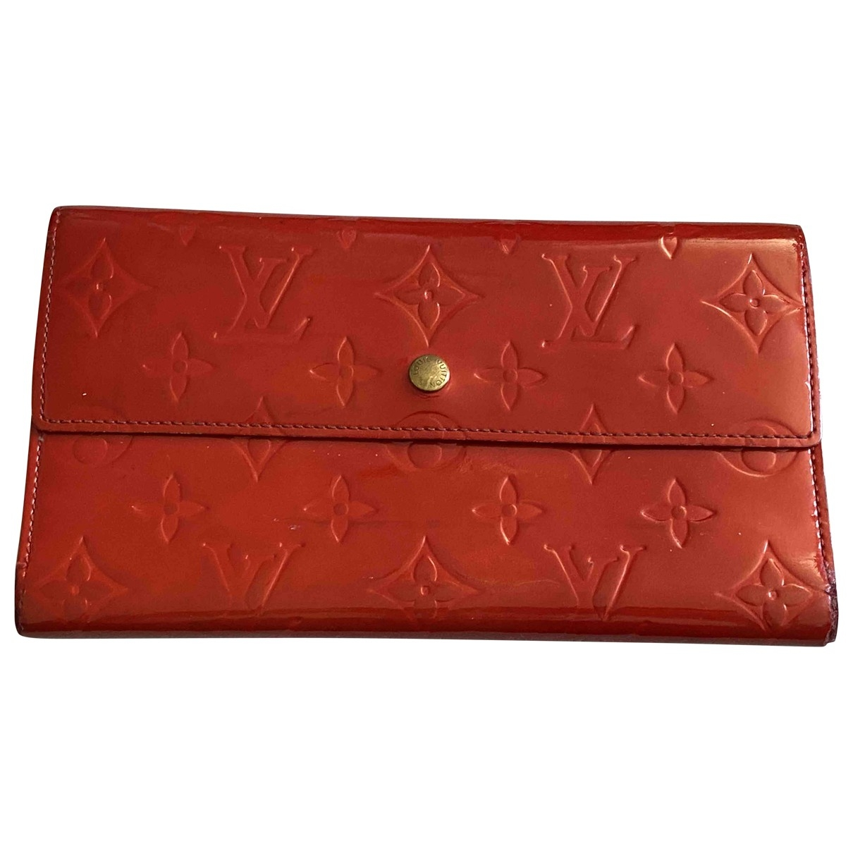 Louis Vuitton \N Pink Patent leather wallet for Women \N