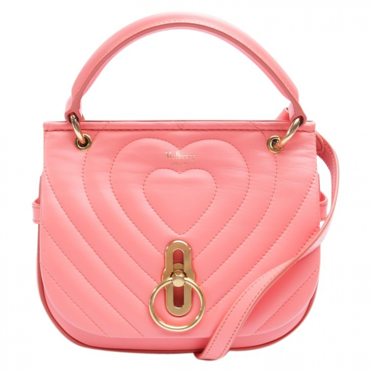 Mulberry - Sac a main Amberley pour femme en cuir - rouge