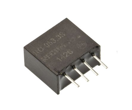 Recom RO 1W Isolated DC-DC Converter Through Hole, Voltage in 4.5 → 5.5 V dc, Voltage out 3.3V dc