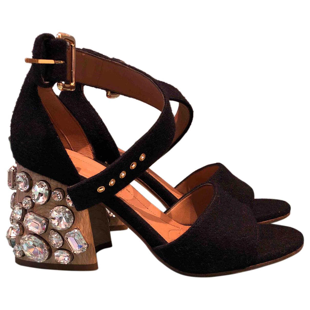 Marni - Sandales   pour femme - noir