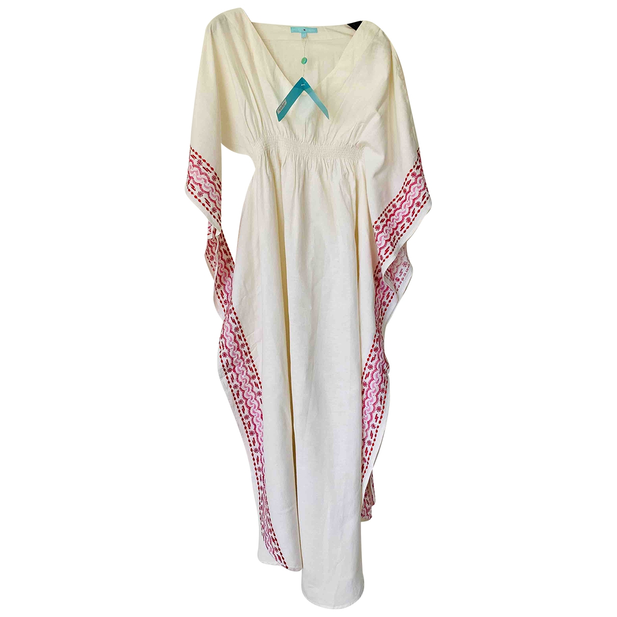Melissa Odabash \N White Linen dress for Women L International