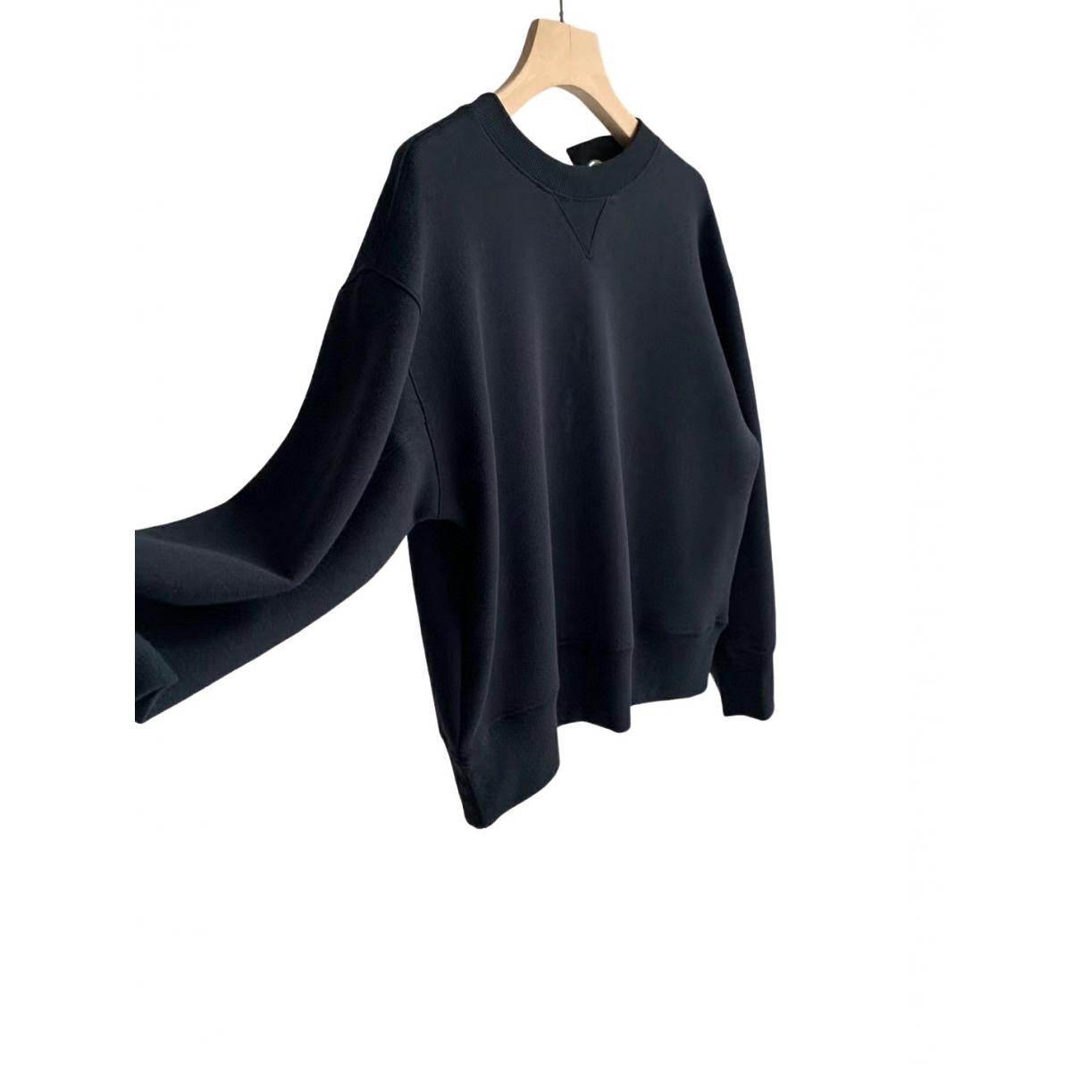 Sacai - Pull   pour femme en coton - noir