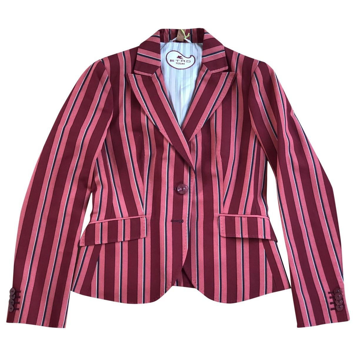 Etro - Veste   pour femme en coton - rouge