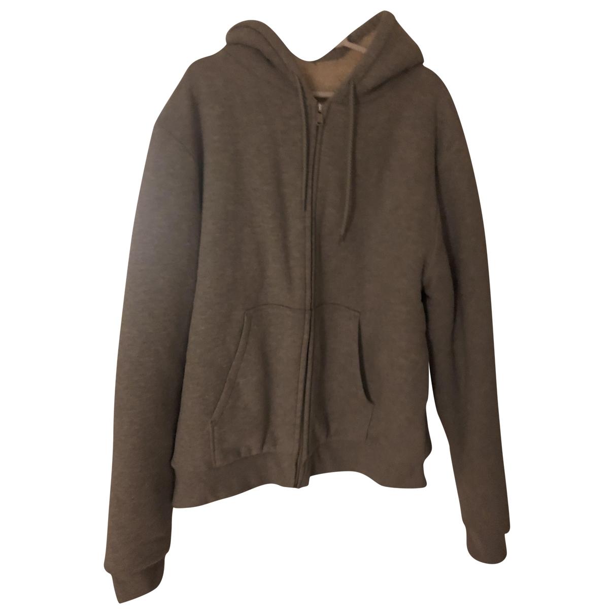 Sandro Fall Winter 2019 Pullover.Westen.Sweatshirts  in  Grau Polyester