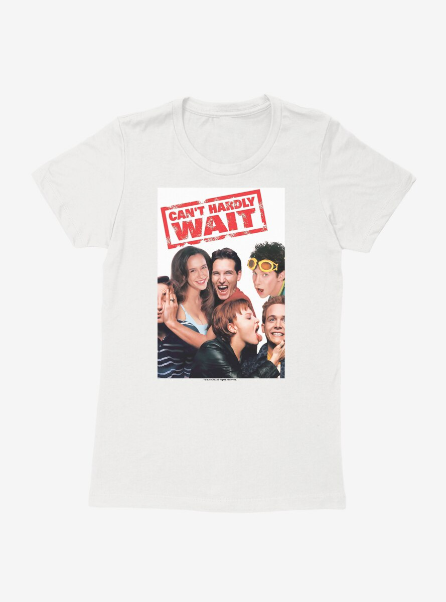 Can't Hardly Wait Movie Poster Womens T-Shirt