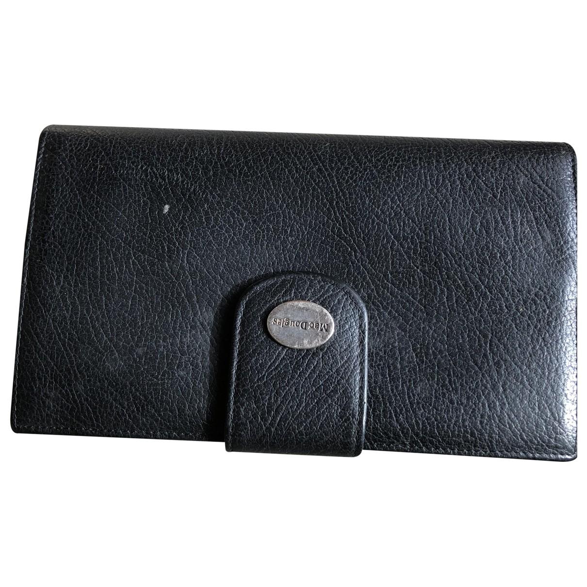 Mac Douglas - Portefeuille   pour femme en cuir - noir