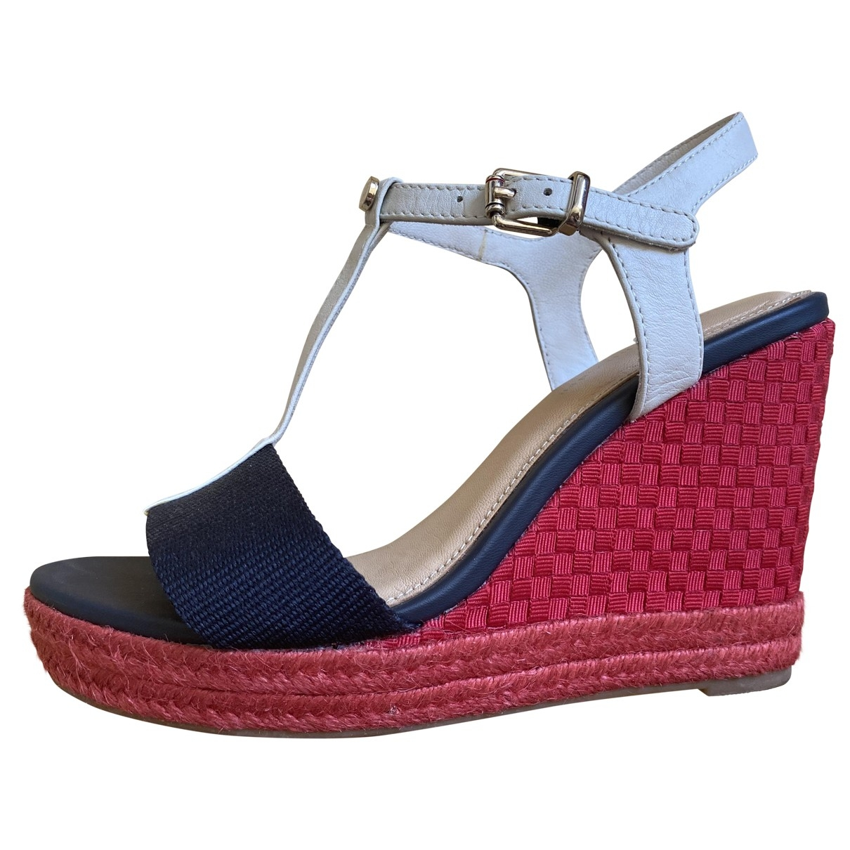 Tommy Hilfiger \N Leather Sandals for Women 37 EU