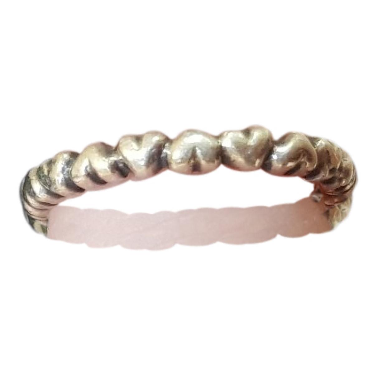 Pandora \N Ring in  Metallic Silber