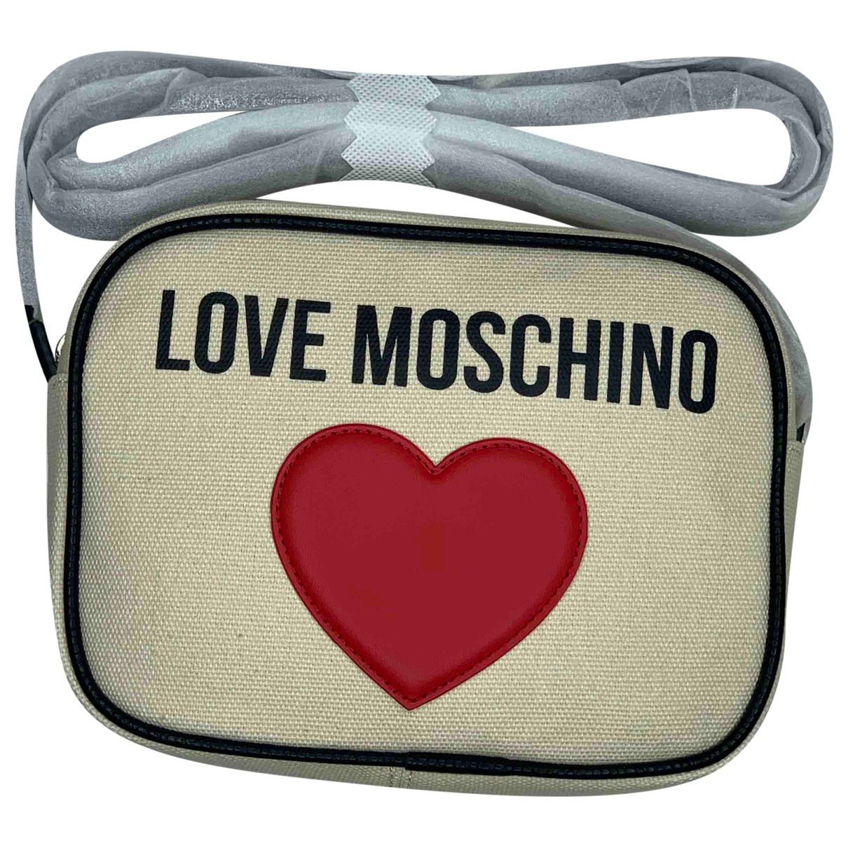 Moschino Love \N Handtasche in Leinen