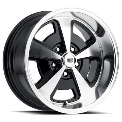109 Magnum 20X8 5X120.65 0MM Poliished Black Gloss Polished Aluminum Wheels 109 Classic Magnum Series REV Wheels 109P-2806100