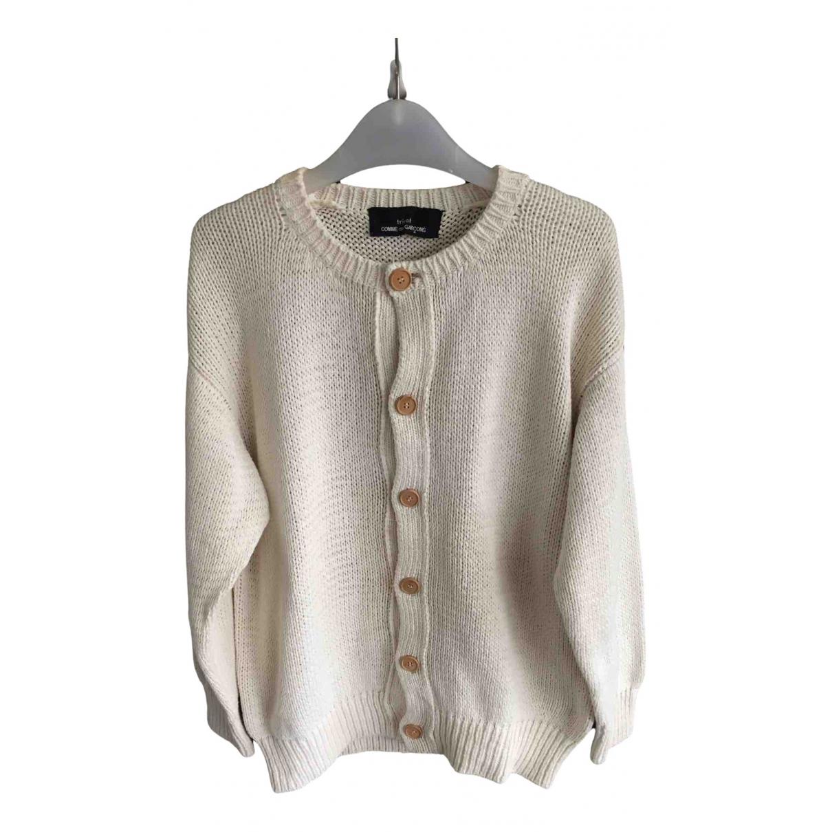 Comme Des Garcons - Pull   pour femme en coton - gris