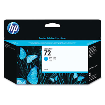 HP 72 C9371A Original Cyan Ink Cartridge High Yiled