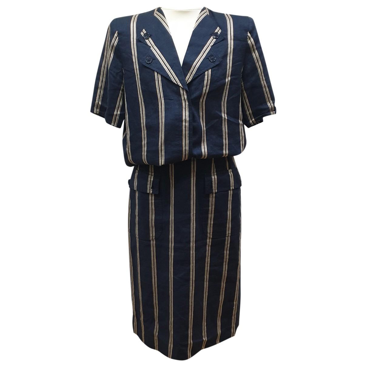 Valentino Garavani - Robe   pour femme en lin - multicolore