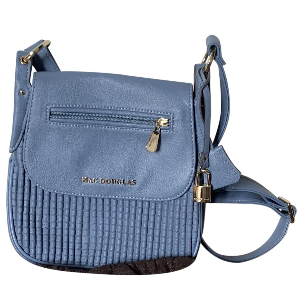 Mac Douglas N Blue Leather handbag for Women N