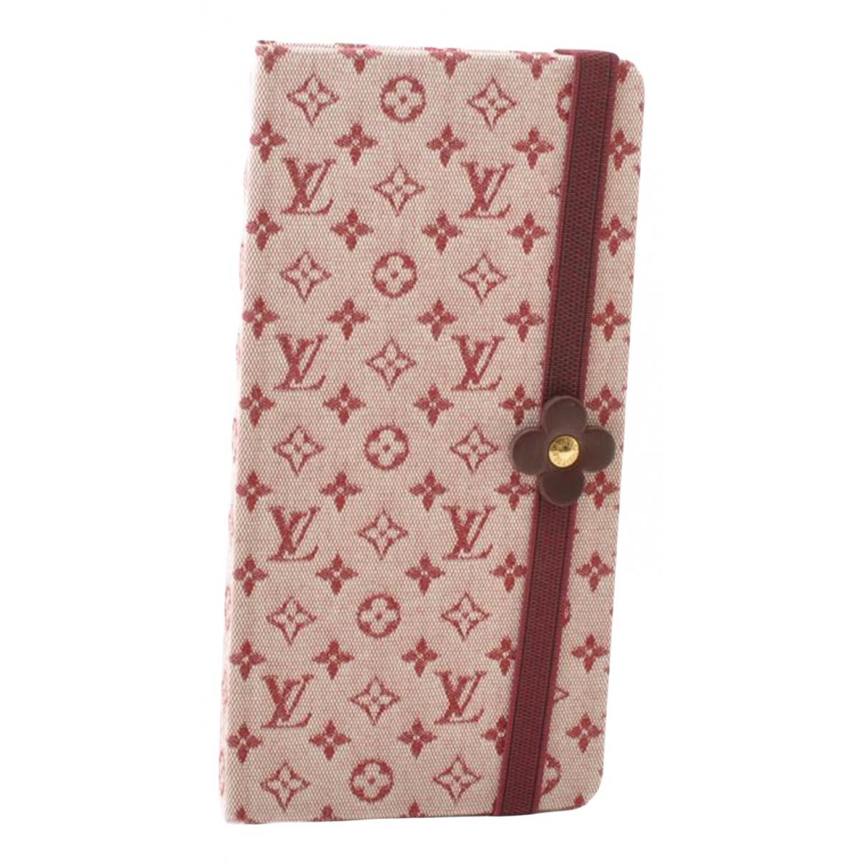 Louis Vuitton - Objets & Deco   pour lifestyle en toile - rouge