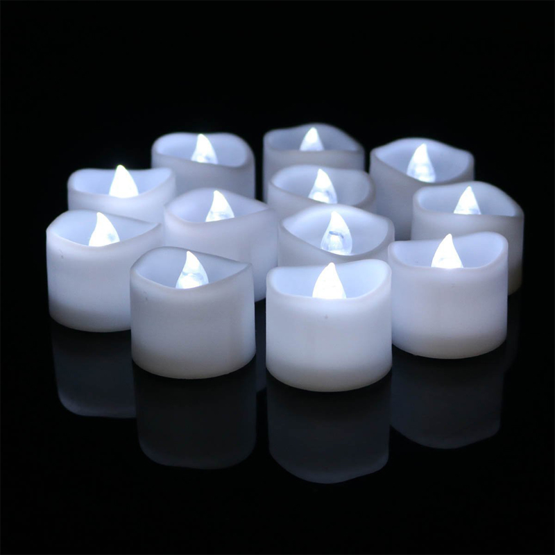 Flameless Flashing Battery Operated LED Candle Light