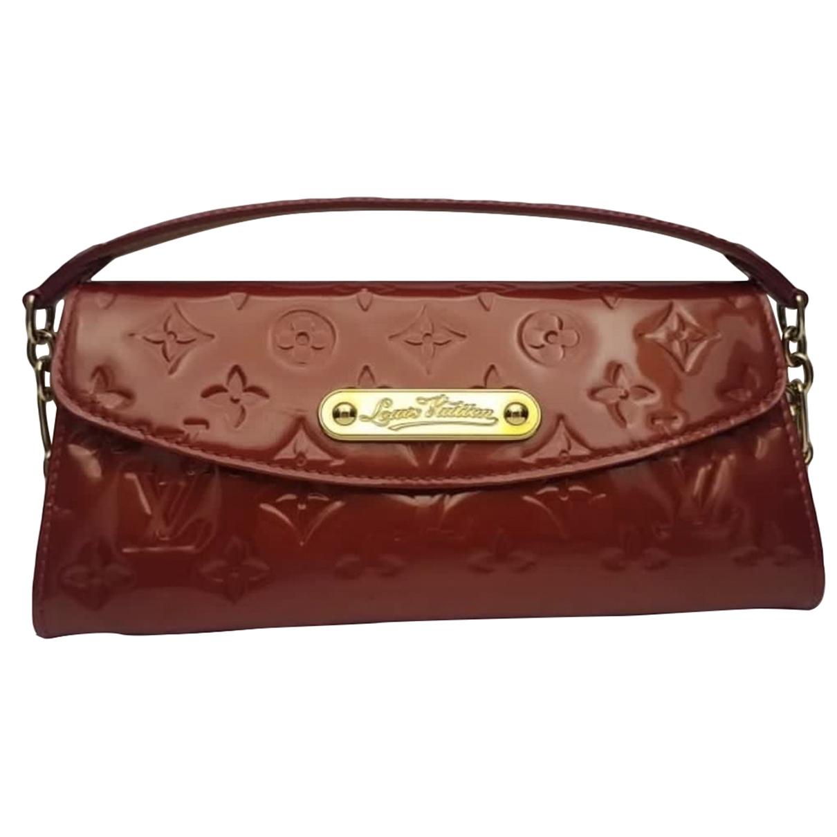 Louis Vuitton Sunset Boulevard Red Patent leather handbag for Women \N