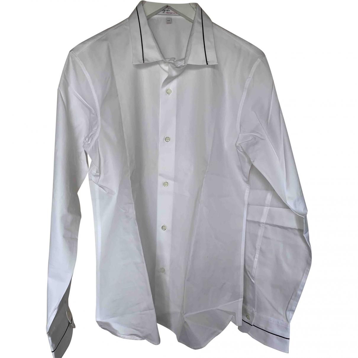 Agnes B. \N Hemden in  Weiss Baumwolle