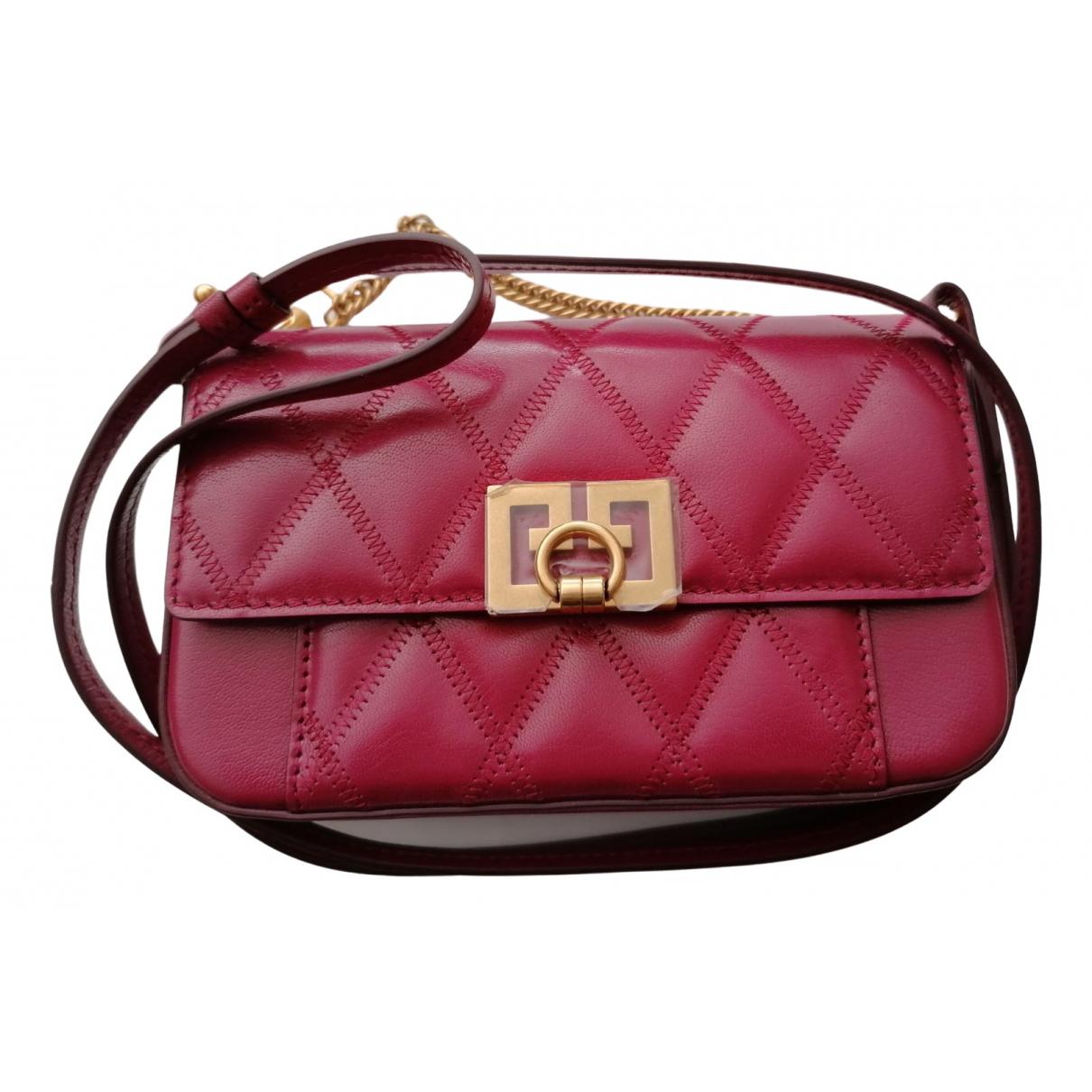 Givenchy - Pochette   pour femme en cuir - rouge