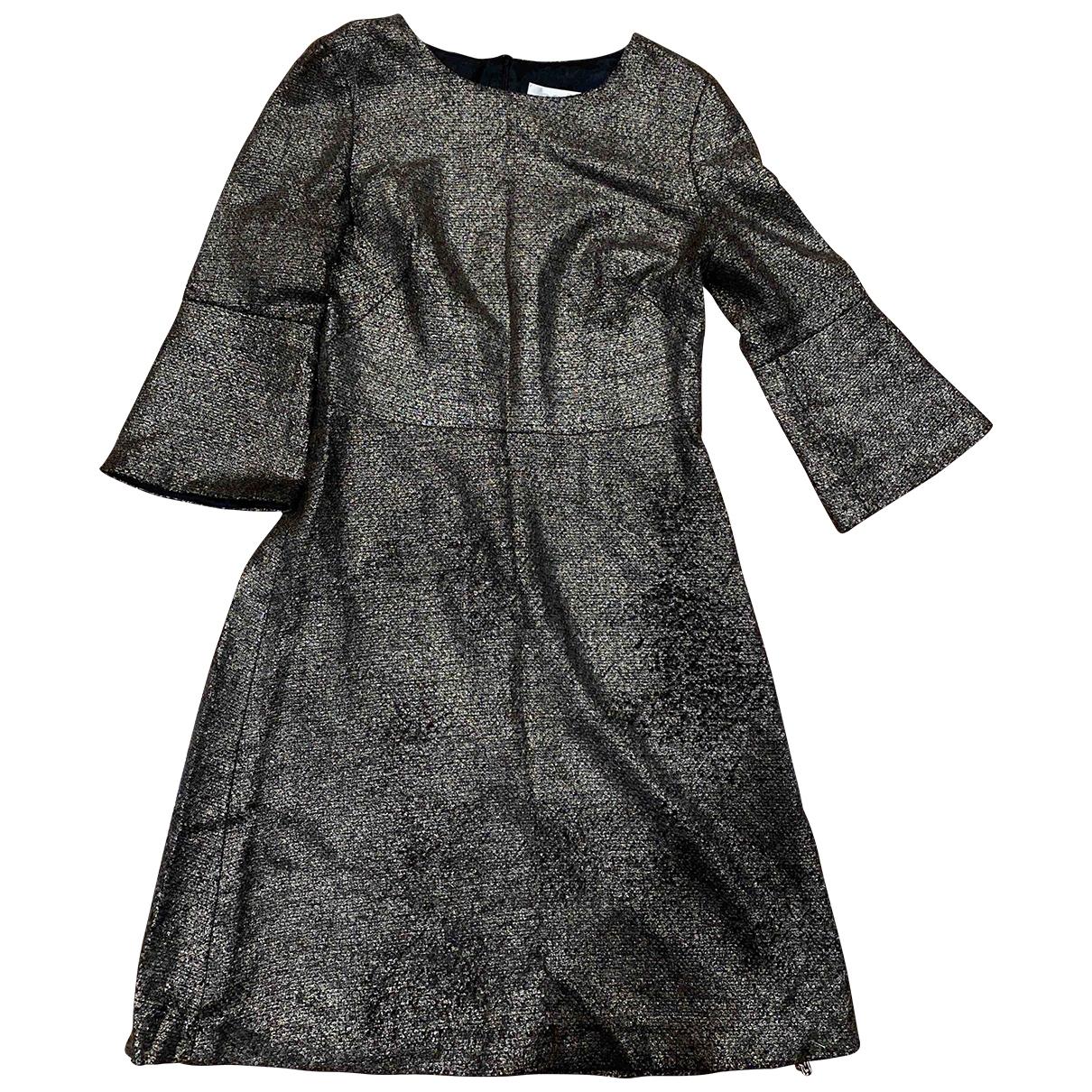 Goat - Robe   pour femme en laine - metallise