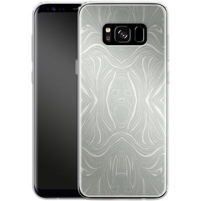 Samsung Galaxy S8 Silikon Handyhuelle - Ghoul Pattern von caseable Designs