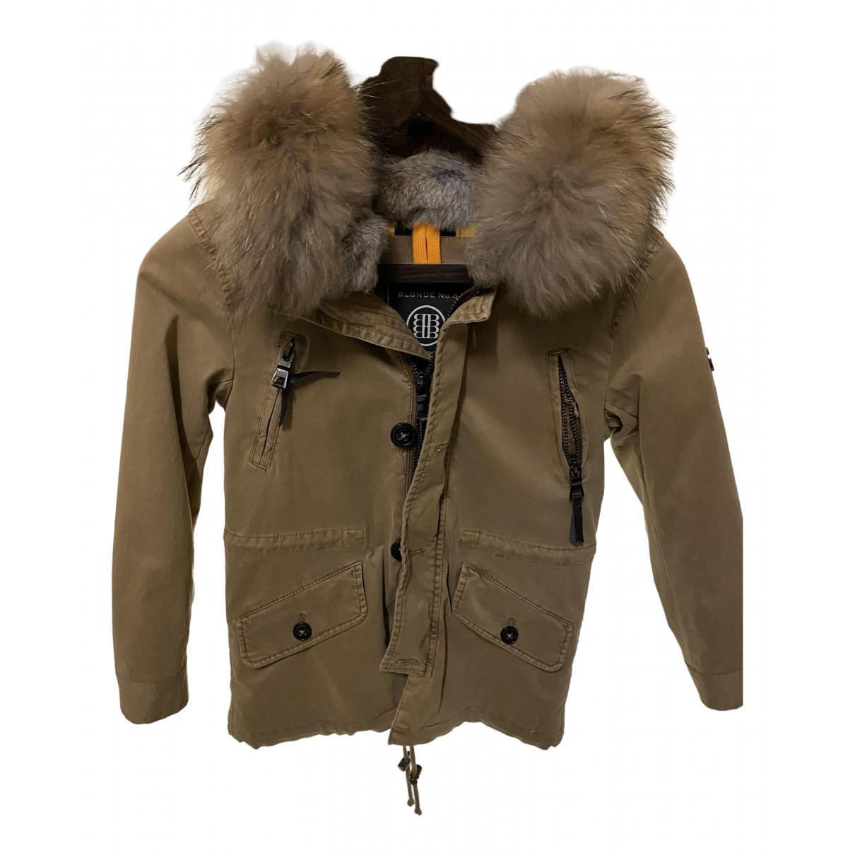Blonde No.8 - Blousons.Manteaux   pour enfant en coton - camel