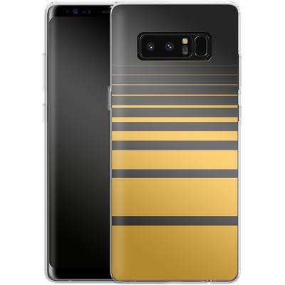 Samsung Galaxy Note 8 Silikon Handyhuelle - Yellow Retro von SONY
