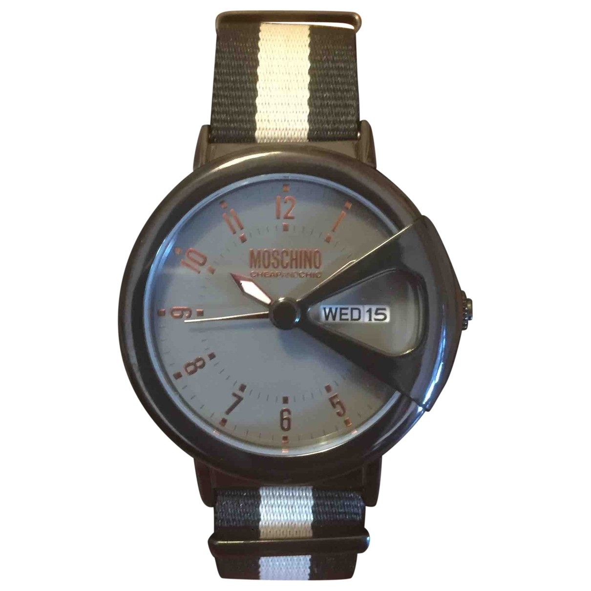 Moschino Cheap And Chic \N Black Steel watch for Men \N