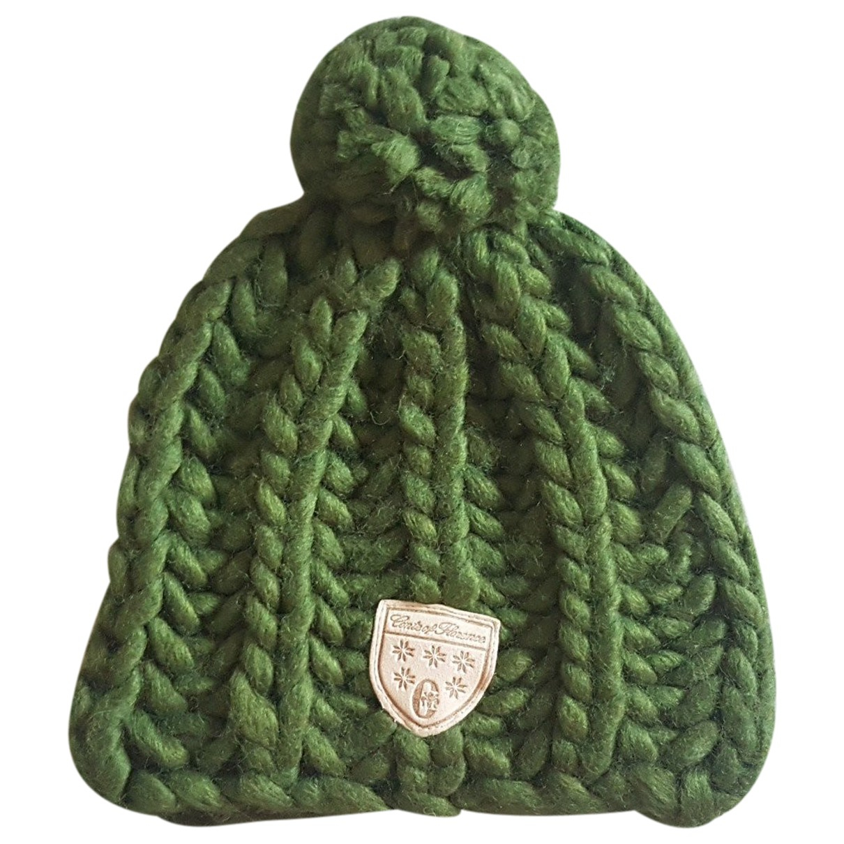 Non Signé / Unsigned N Green Wool hat for Women M International