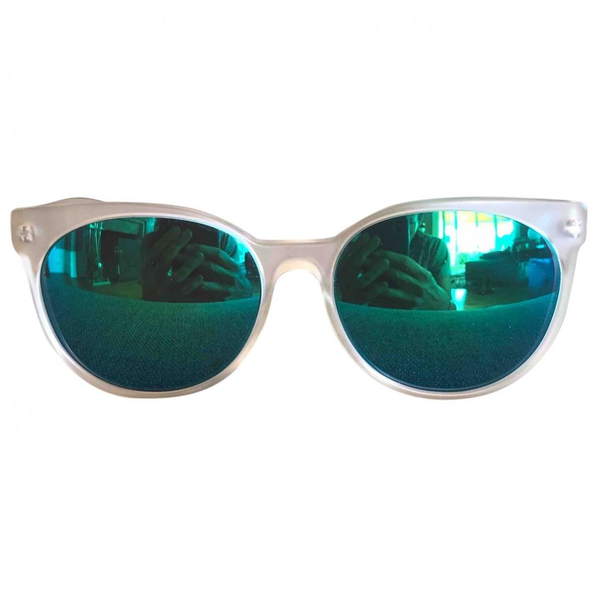 L.g.r \N Sonnenbrillen in  Ecru Kunststoff