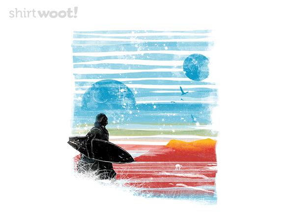 Dark Side Of The Beach T Shirt