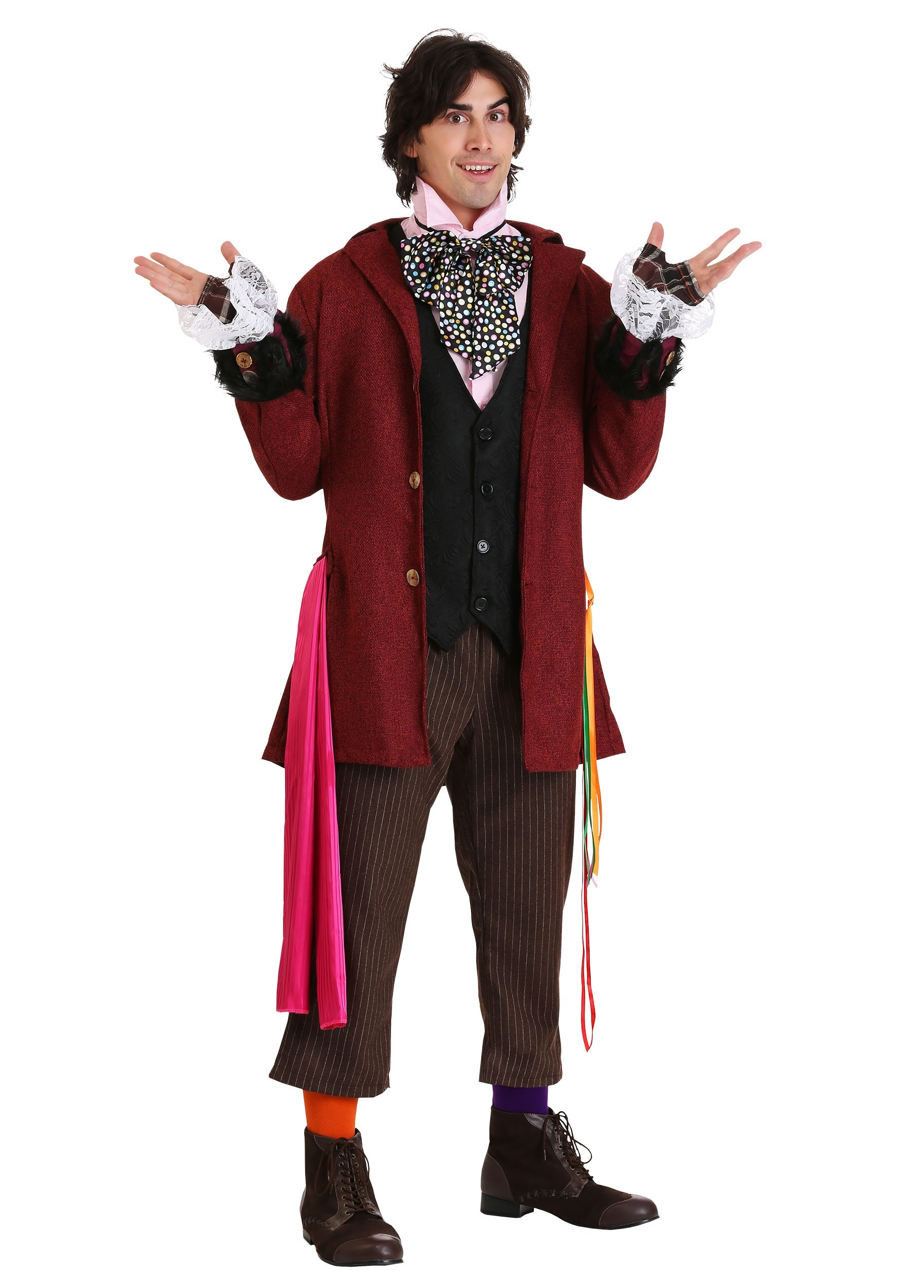 Authentic Mad Hatter Costume for Men | Movie Character Costume
