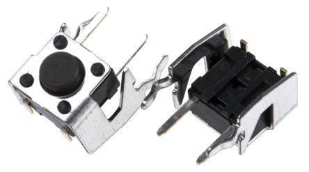 Alps Alpine Grey Stem Tactile Switch, Single Pole Single Throw (SPST) 50 mA @ 12 V dc 3.85mm (20)