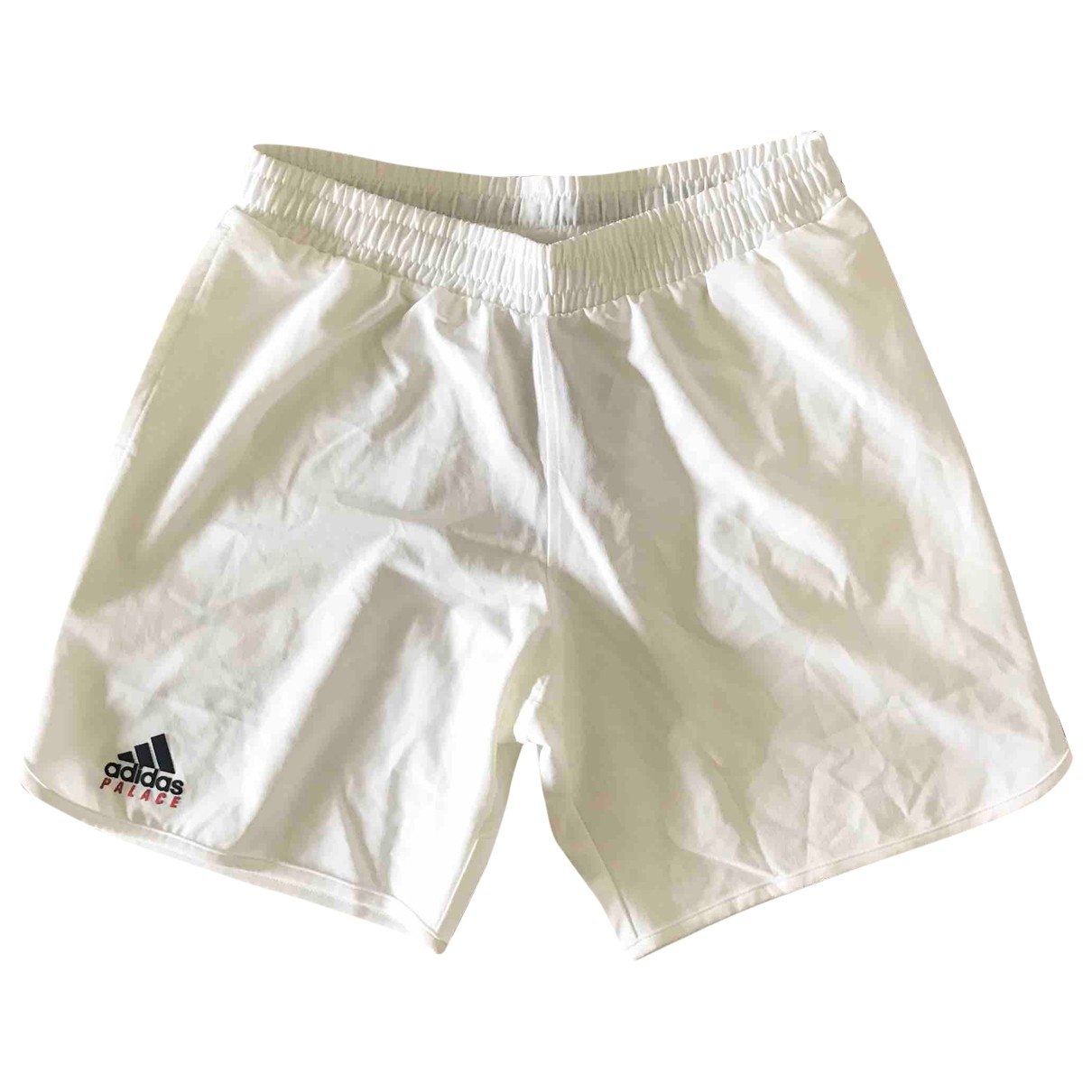 Palace X Adidas \N Shorts in  Weiss Polyester