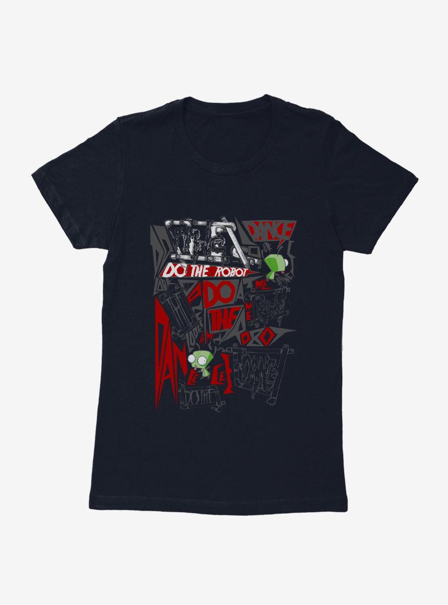 Invader Zim Do The Robot Womens T-Shirt