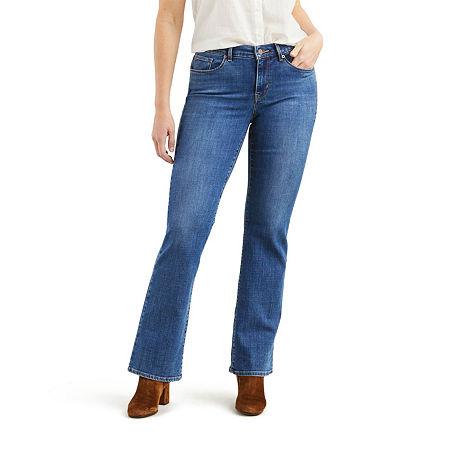 Levi's Classic Bootcut Jean, 16 Short , Blue