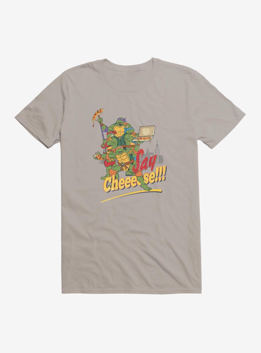 Teenage Mutant Ninja Turtles Cheese T-Shirt