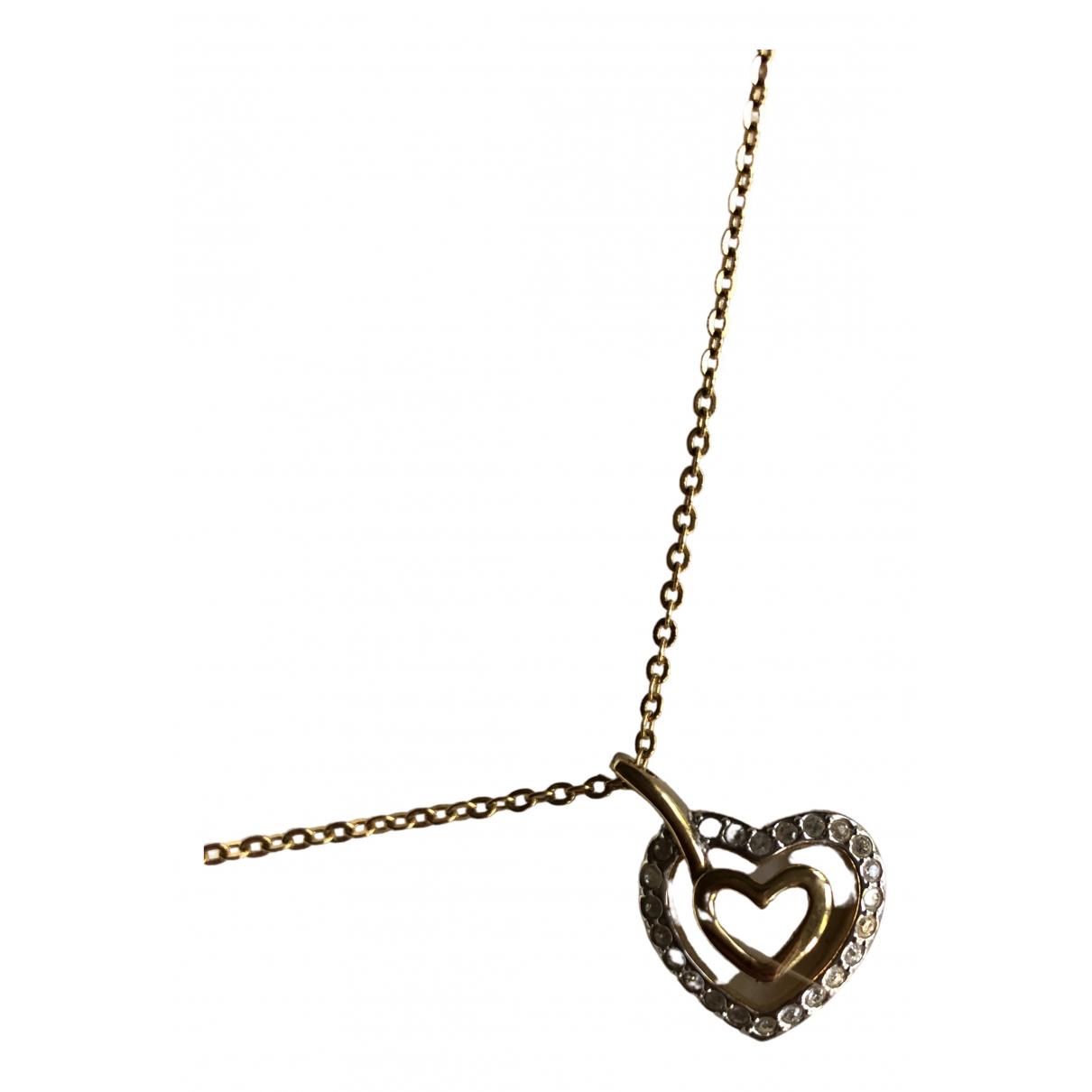Swarovski - Collier   pour femme en plaque or - metallise