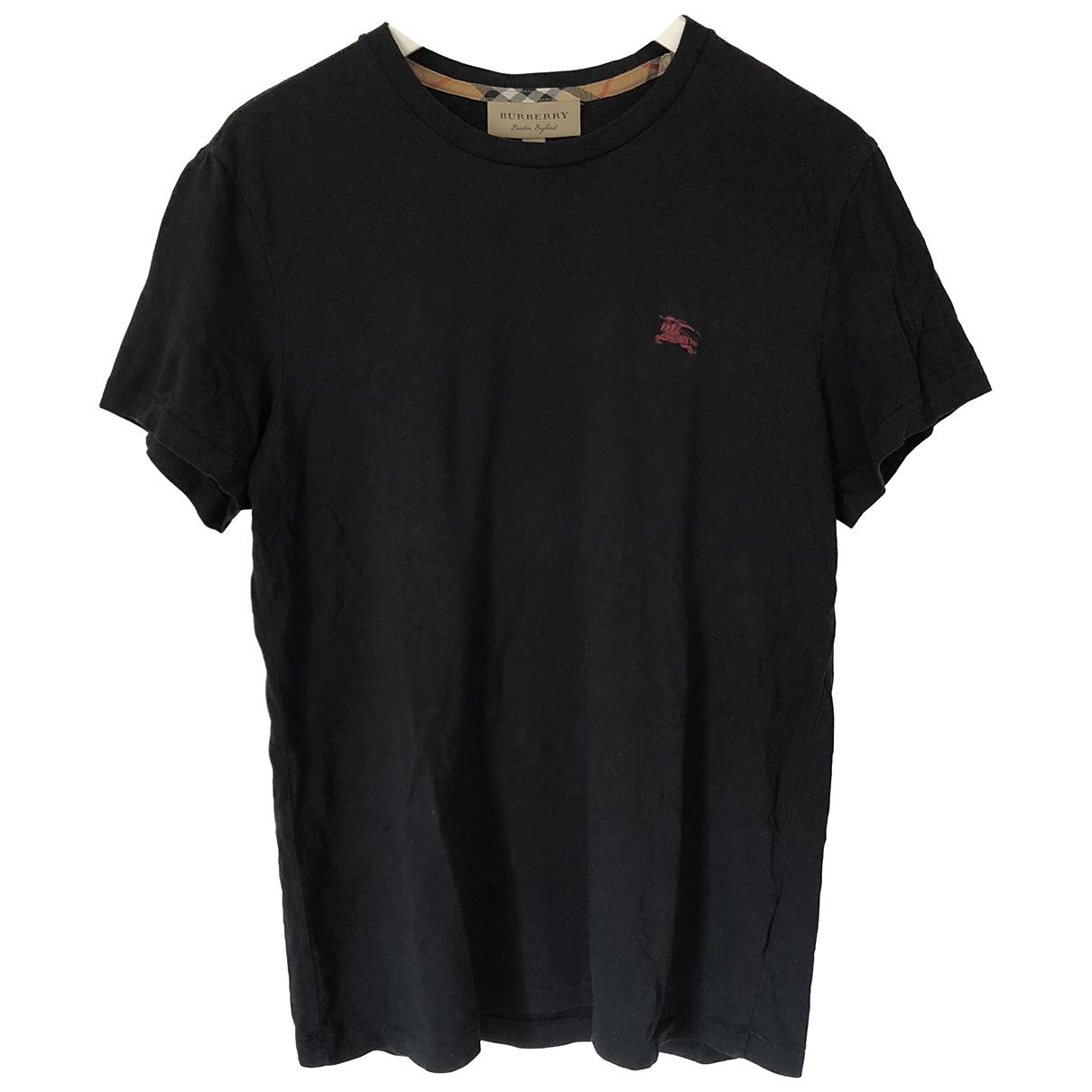 Burberry \N Black Cotton T-shirts for Men M International