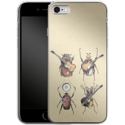 Apple iPhone 6s Silikon Handyhuelle - Meet The Beetles von Eric Fan
