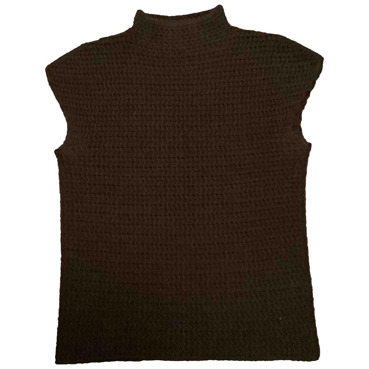 Maska \N Brown Wool Knitwear for Women 44 IT