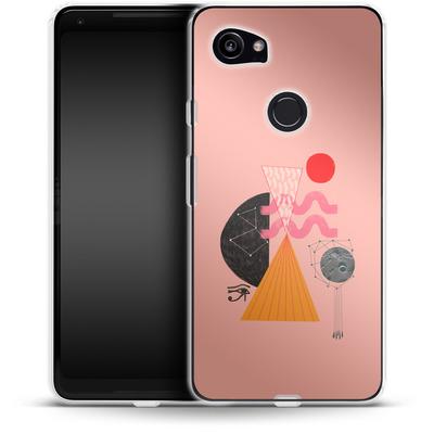 Google Pixel 2 XL Silikon Handyhuelle - Sun-Exp von Victoria Topping