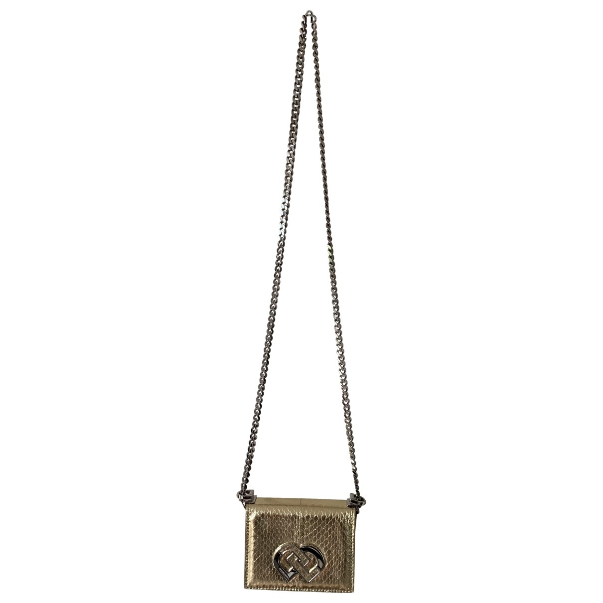 Dsquared2 \N Gold Leather handbag for Women \N