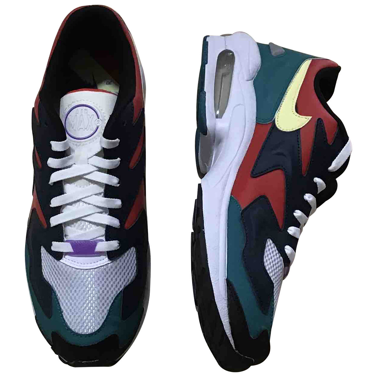 Nike - Baskets Air Max 2 Light pour homme en caoutchouc - multicolore