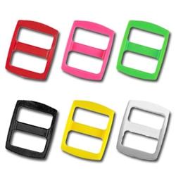 5/8 Inch Colored Plastic Slides